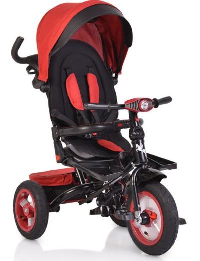 Τρίκυκλο Ποδήλατο με Μουσική & Air Wheels ΒΥΟΧ Jockey dark red 3800146242909