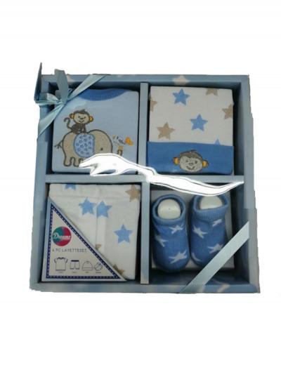 Σετ δώρου για νεογέννητο Dreams σιέλ 10022s
