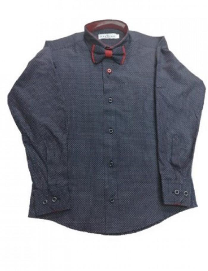 Αγόρι πουκάμισο 6-16 Hashtag μπλε σκούρο 199751