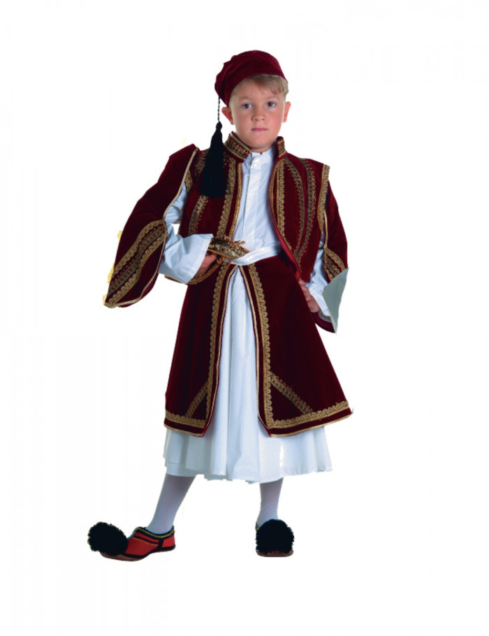 Αγόρι  4-14  παραδοσιακή φορεσιά οπλαρχηγού  Lux   36172