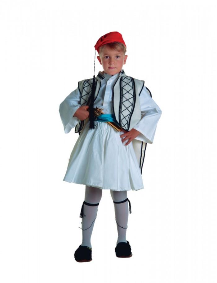 Αγόρι  4-14  παραδοσιακή φορεσιά  Σουλιώτη  36132