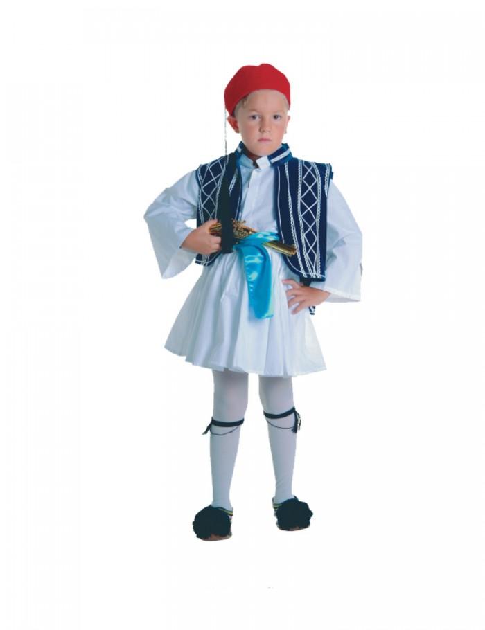 Αγόρι  4-14  παραδοσιακή φορεσιά τσολιά  Lux   30011