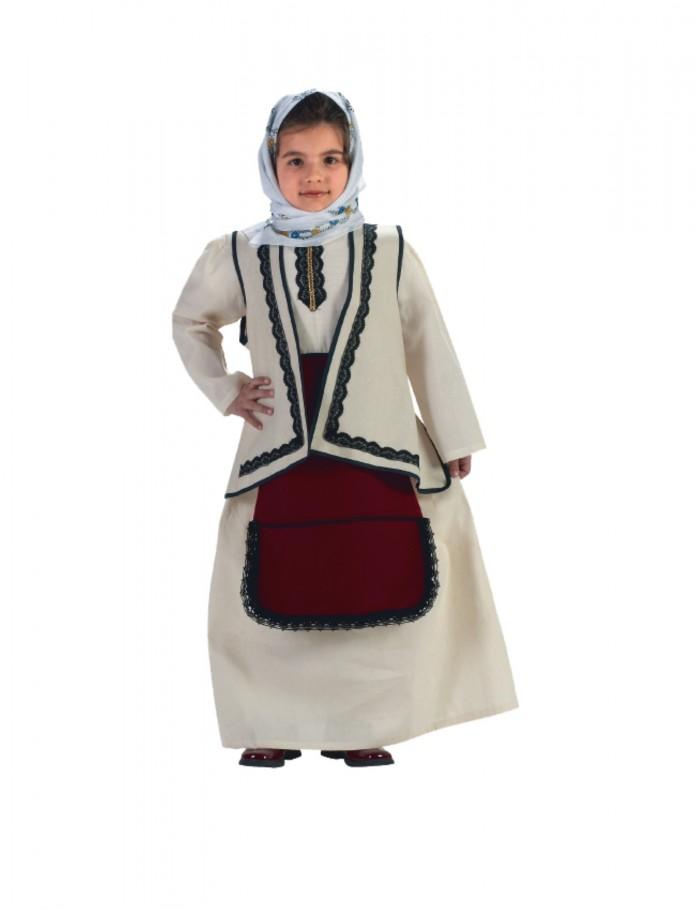 Κορίτσι   4-14  παραδοσιακή φορεσιά Σουλιώτισσα  οικονομική  36202