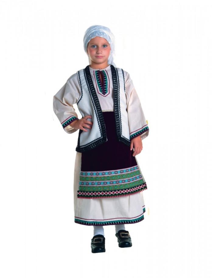Κορίτσι   4-14  παραδοσιακή φορεσιά Σουλιώτισσα   Lux  36022