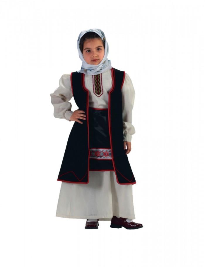 Κορίτσι   4-14  παραδοσιακή φορεσιά Ηπειρώτισσα οικονομική   36192